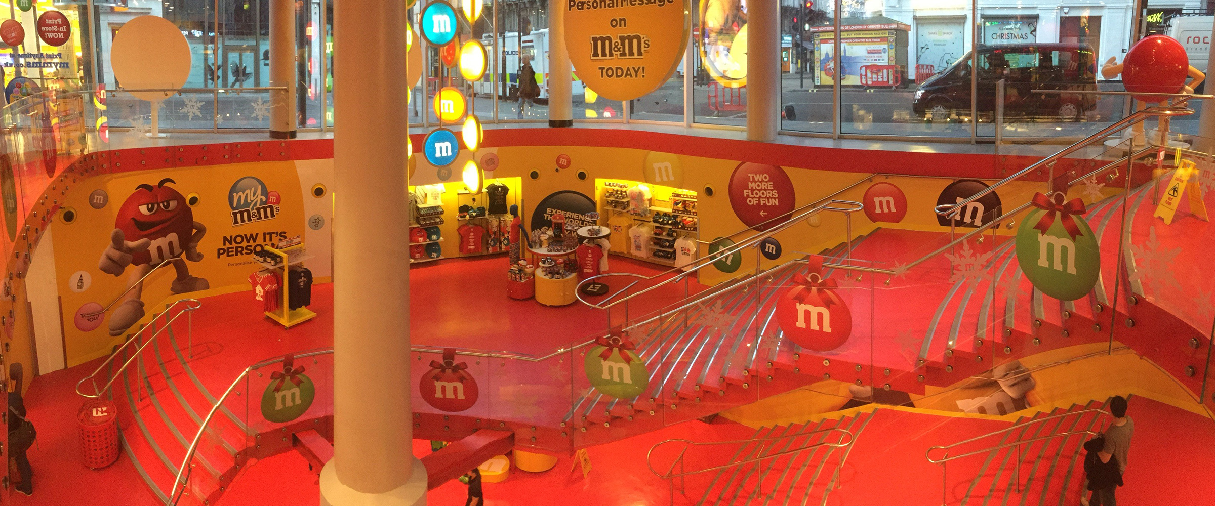 M&M's World, Leicester Square