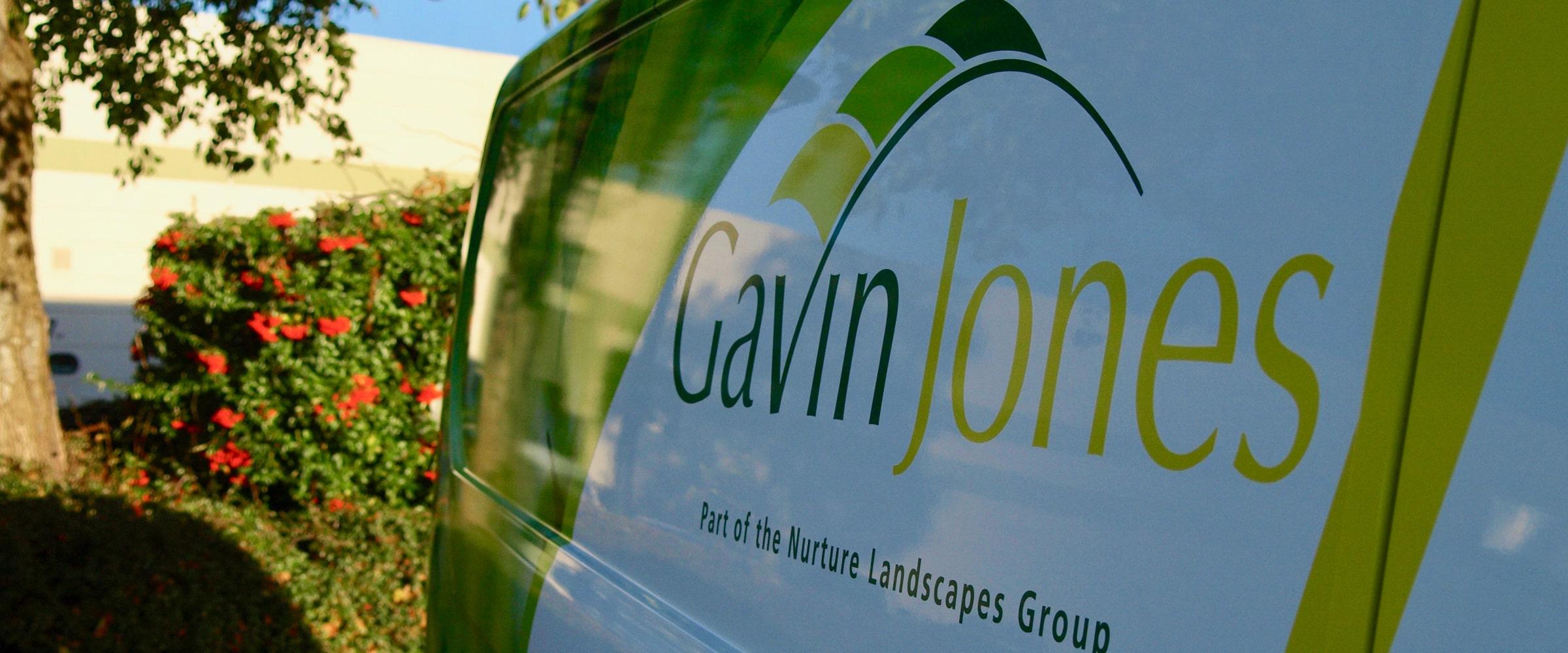 Fleet branding for Nuture Landscapes Group