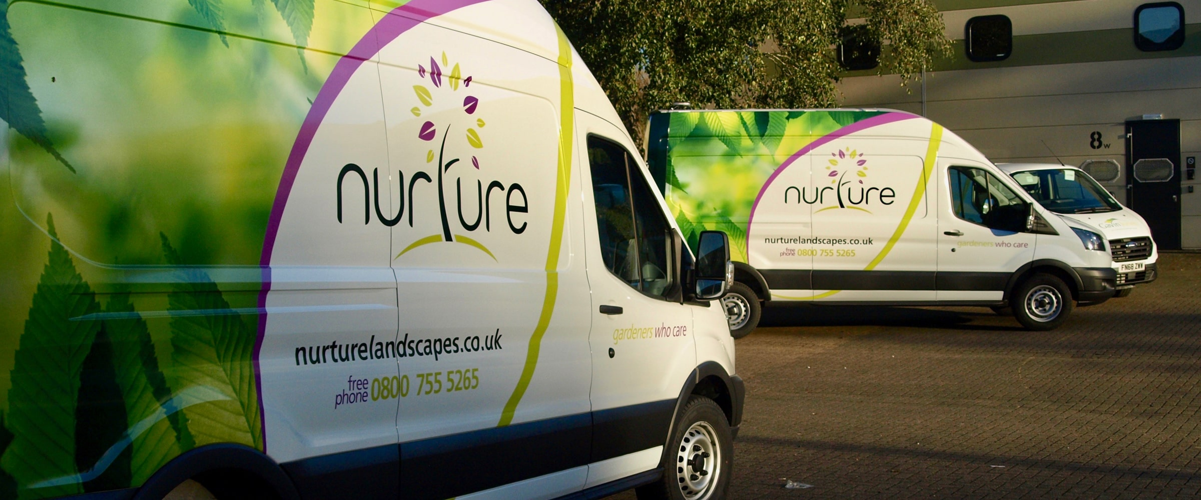 Nurture Group Fleet Branding