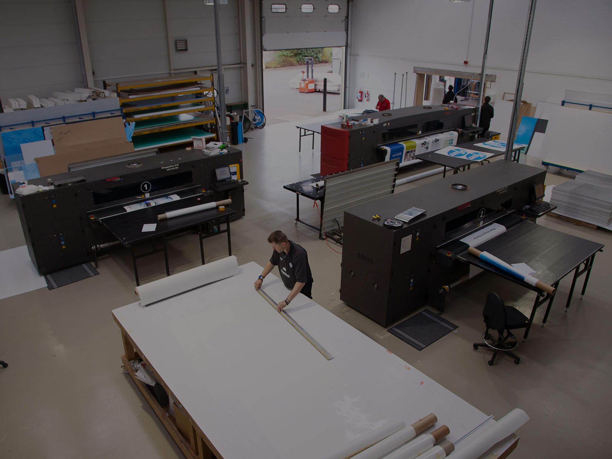 Large Format Printing Workshop in Watford, Near London
