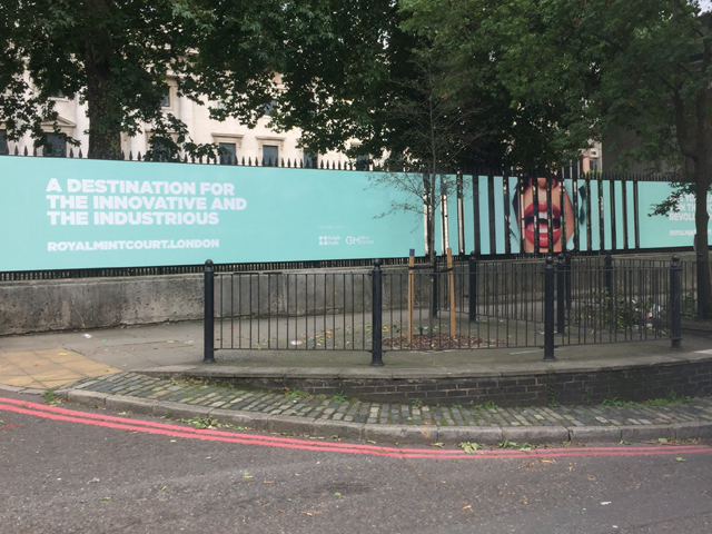 Benefits of Hoarding Signage - Creative Hoading Graphics in London