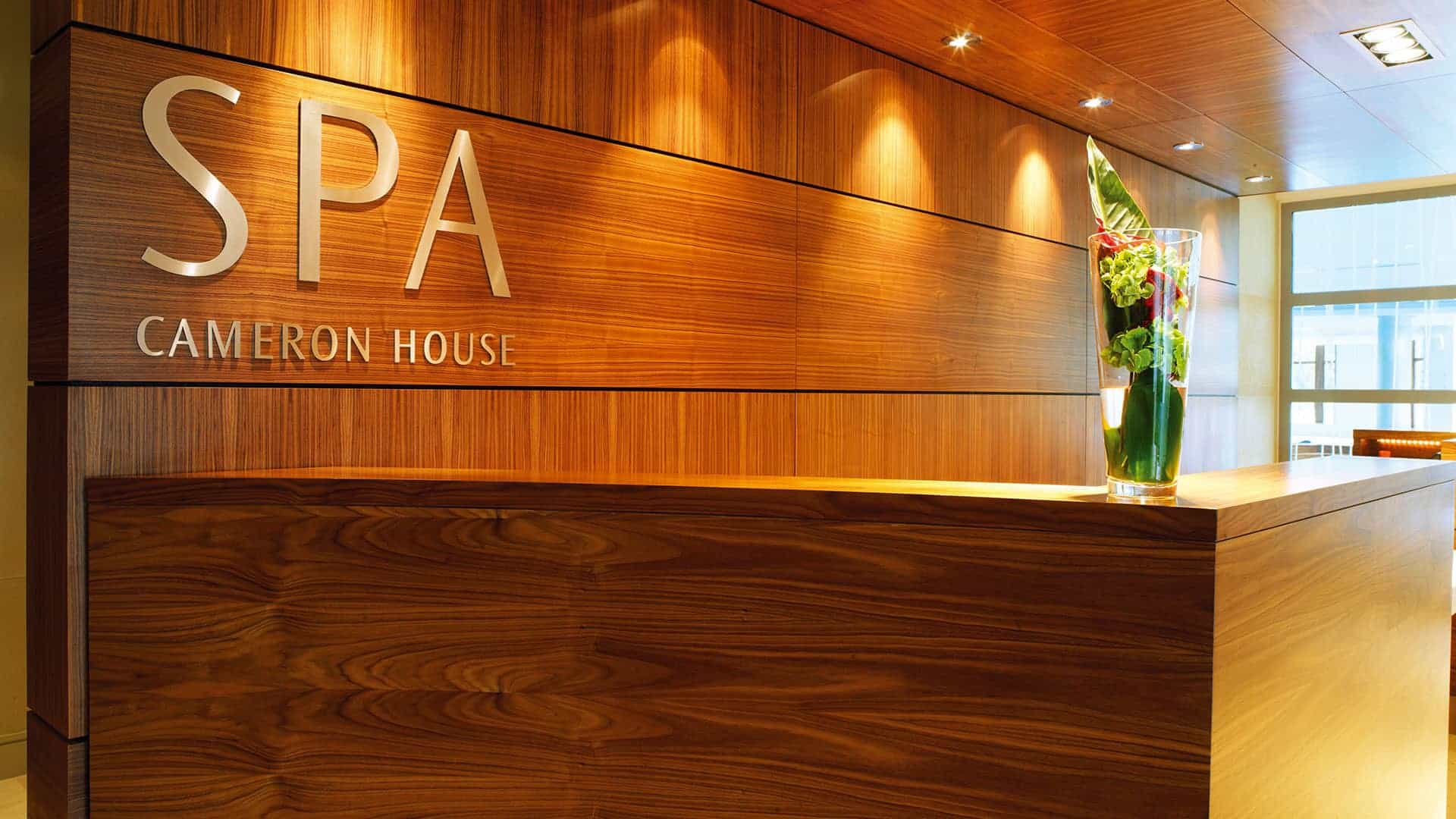 Internal Hospitality Hotel Signage for Spa Area