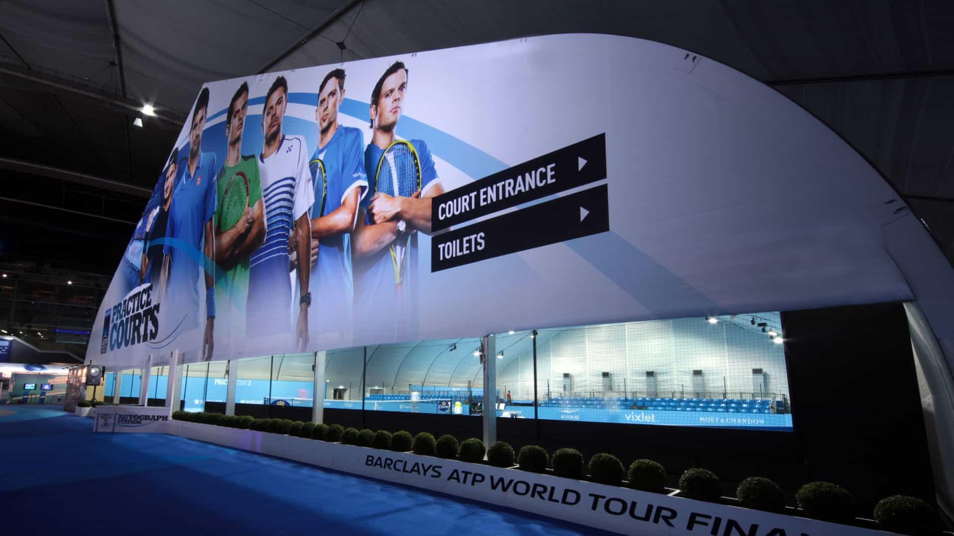 Large Format Sports Signage Graphics