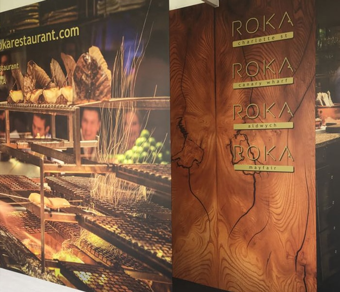 Large format printed exhibition graphics in London